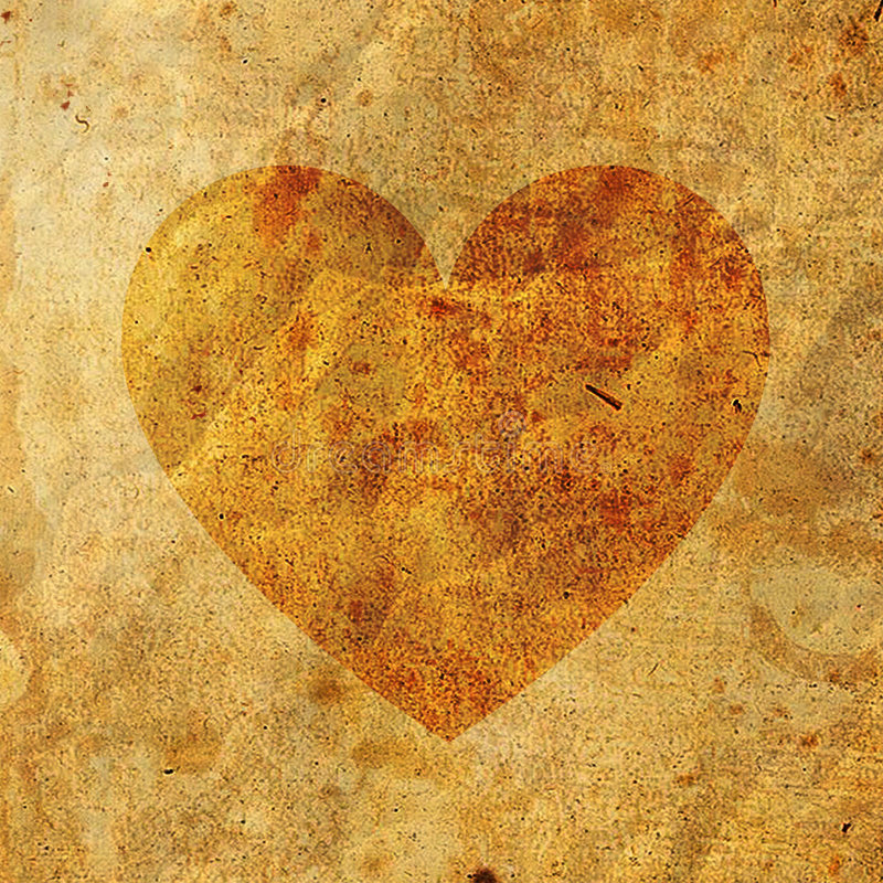 Free Old Paper On Heart Royalty Free Stock Photos - 2583108