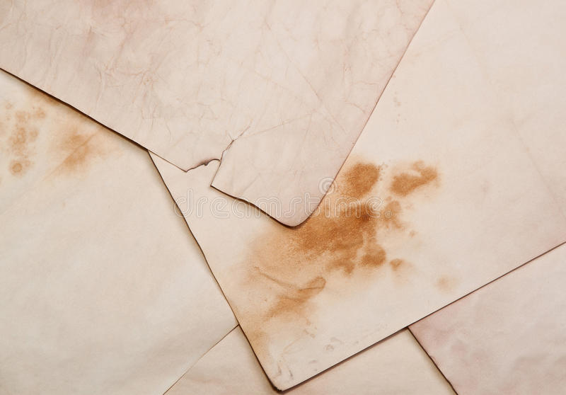 Old Paper Pages Royalty Free Stock Images