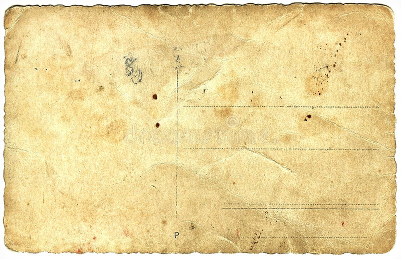 Download Old paper postcard stock photo. Image of cardboard, aged - 8019422