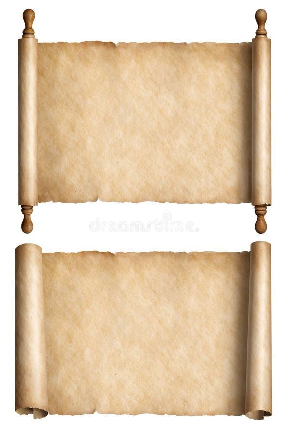 3d Scroll Of Parchment Photo: Scrolls Stock Illustration. Illustration Of Grunge