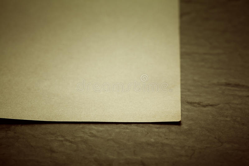 Download Old paper sheet stock photo. Image of office, decay, blank - 25943110
