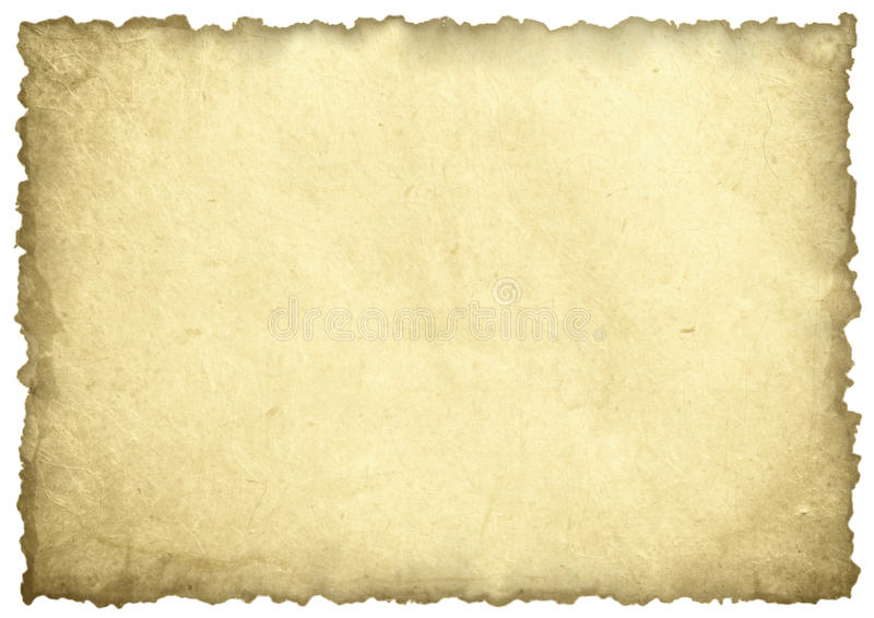 Download Old paper sheet stock image. Image of surface, aged, empty - 26274667