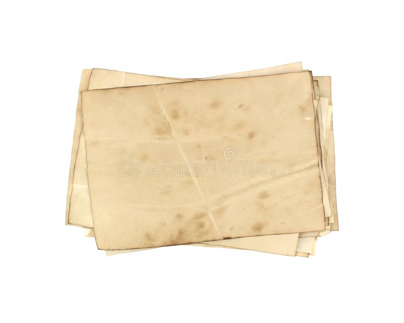 Old paper sheet on for background texture royalty free stock images