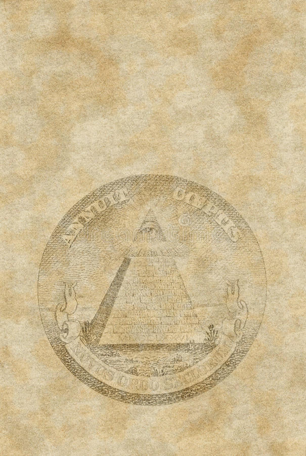 Download Old Paper Sheet With Pyramid Royalty Free Stock Images - Image: 19189509