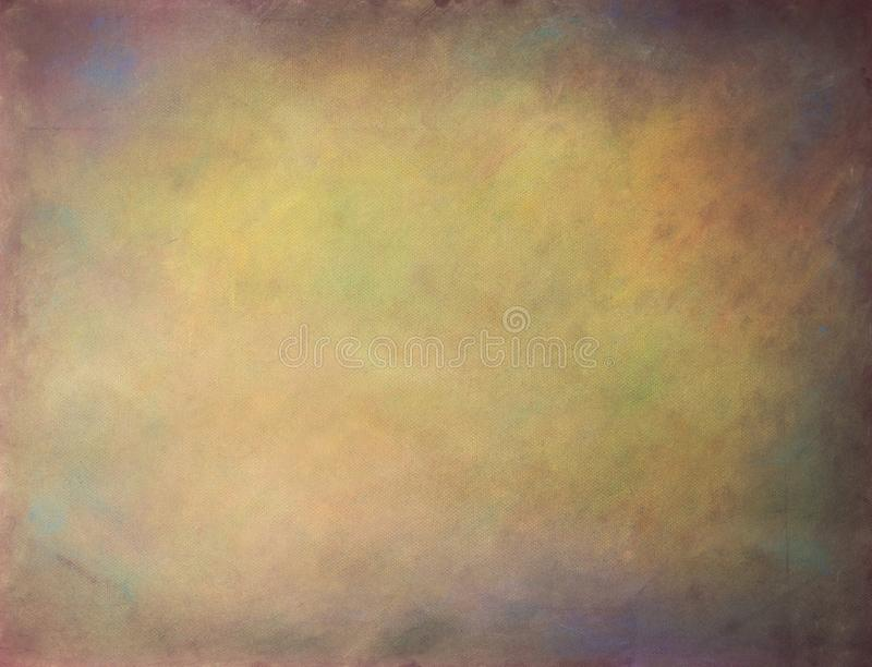 Old paper soft pastels paint vintage aged background or texture.  royalty free stock photo