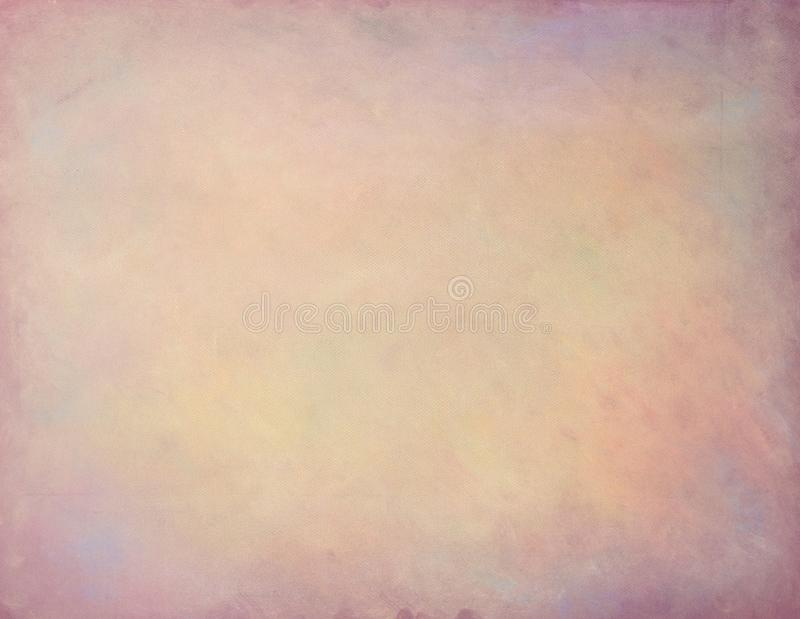 Old paper soft pastels paint vintage aged background or texture.  royalty free stock images