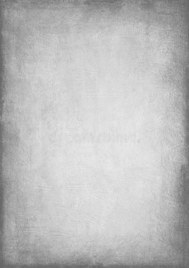 Old paper texture. With grain effect and black white tones stock photo