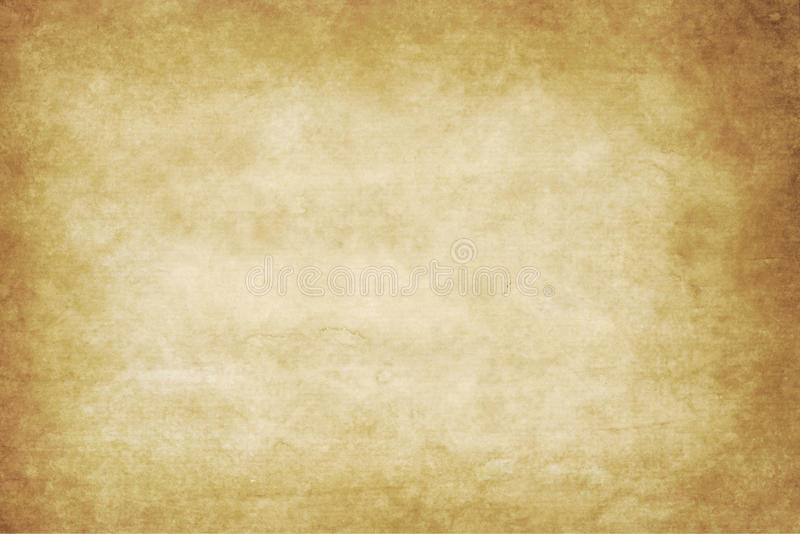 Old paper texture or background with dark vignette b royalty free stock image