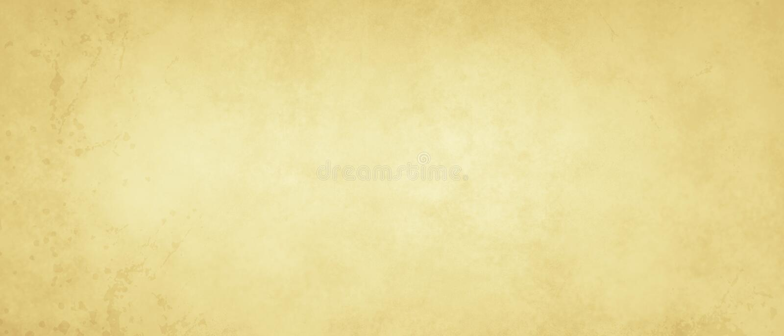 Old paper texture background with texture and grunge stains in soft beige or light yellow white color, old vintage background vector illustration