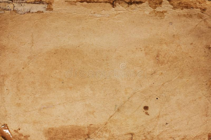 Old Paper Texture Background royalty free stock photography