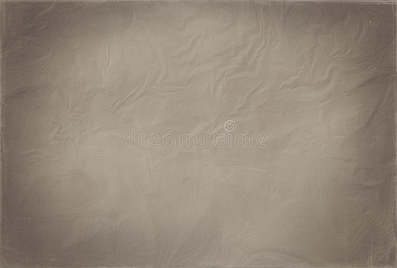 Old paper texture. Large blank old paper for background stock photography