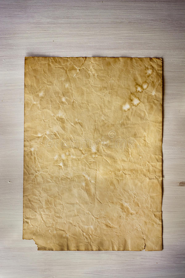 Old paper, white wood texture. Old paper on whiten wood texture with Natural patterns, vintage effect royalty free stock photography
