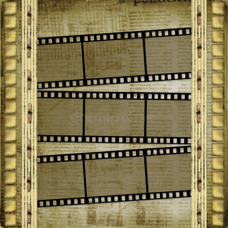 Download Old Papers And Grunge  Filmstrip Stock Illustration - Image: 11797539