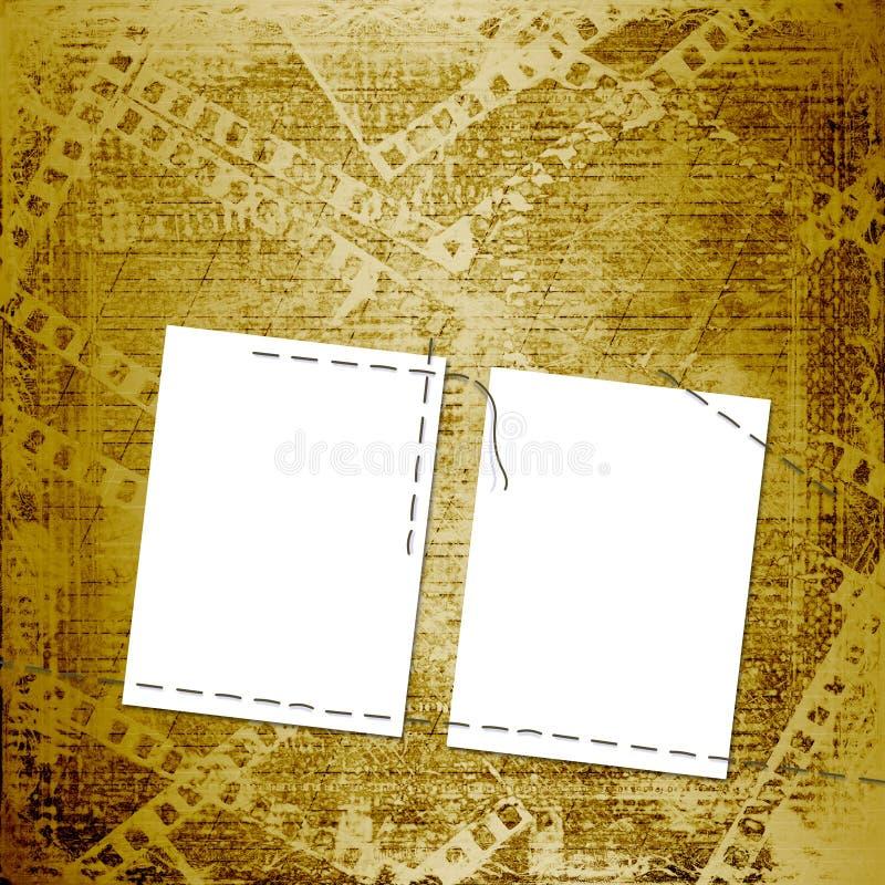Download Old Papers And Grunge  Filmstrip Stock Illustration - Image: 11885341