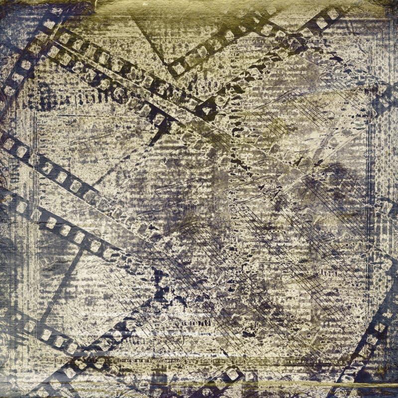 Download Old Papers And Grunge Filmstrip Stock Illustration - Image: 27706364