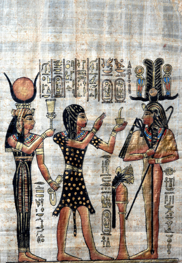 Download Old Papyrus stock photo. Image of civilization, ancient - 2429138