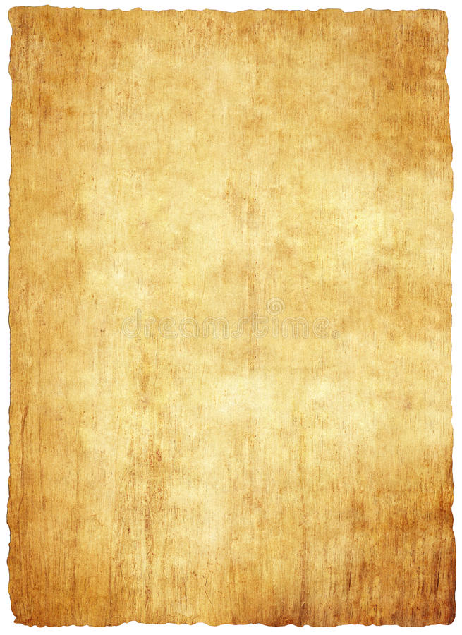 Old papyrus paper stock illustration