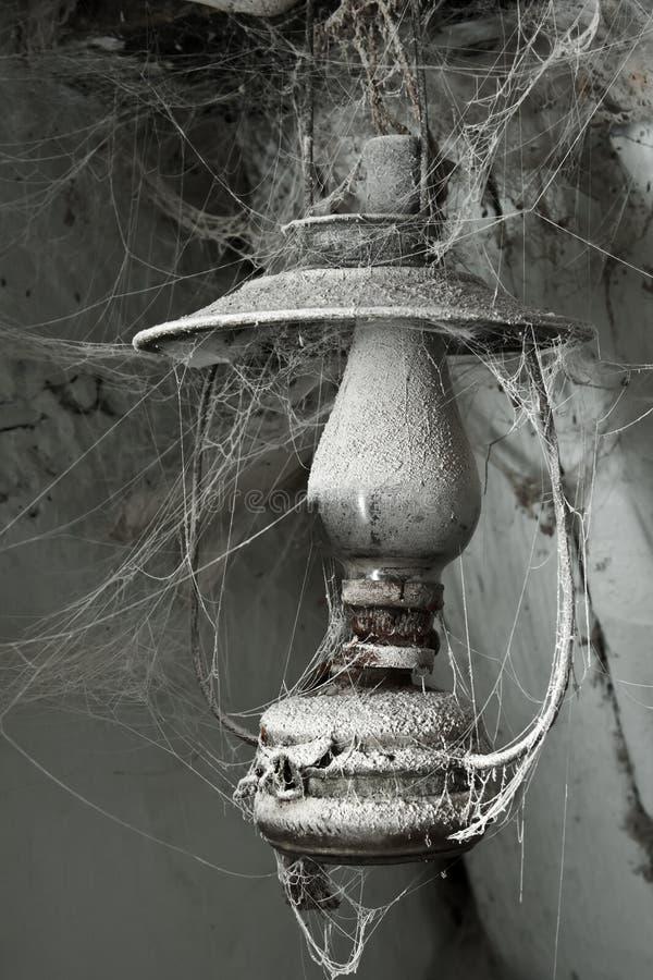 Old paraffin lamp