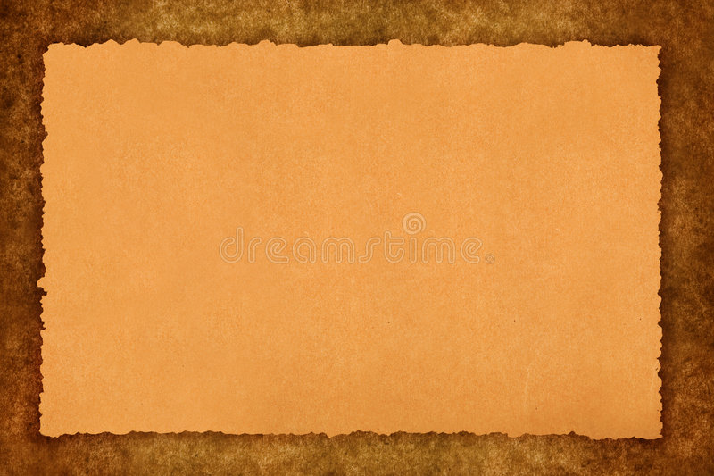 Old parchment royalty free stock photo