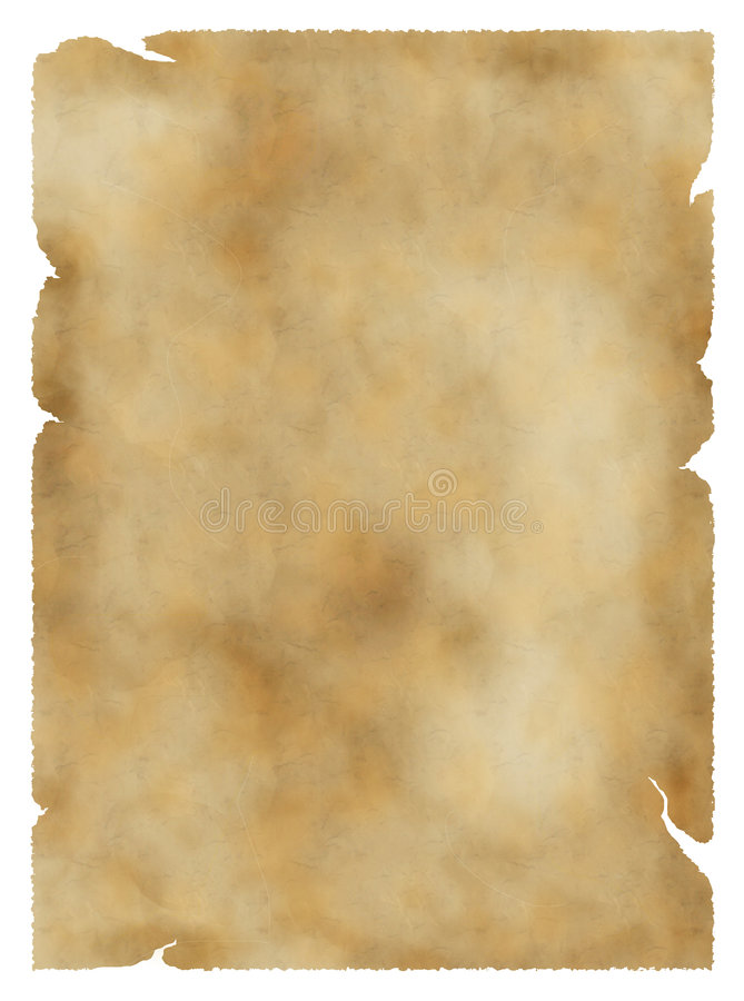 Old parchment background stock photography