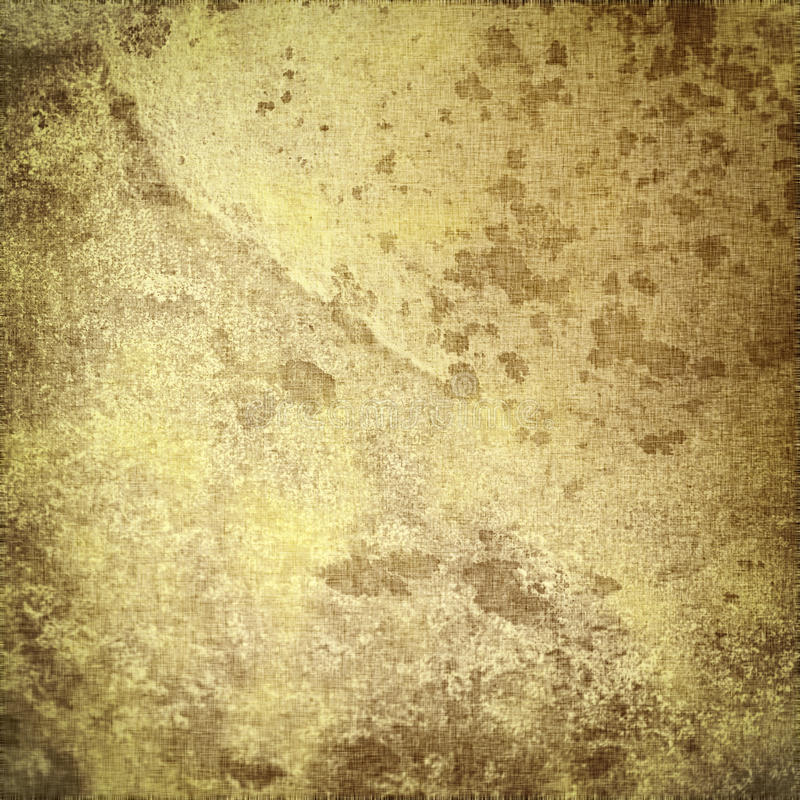 Old parchment, grunge paper texture with cracks vector illustration