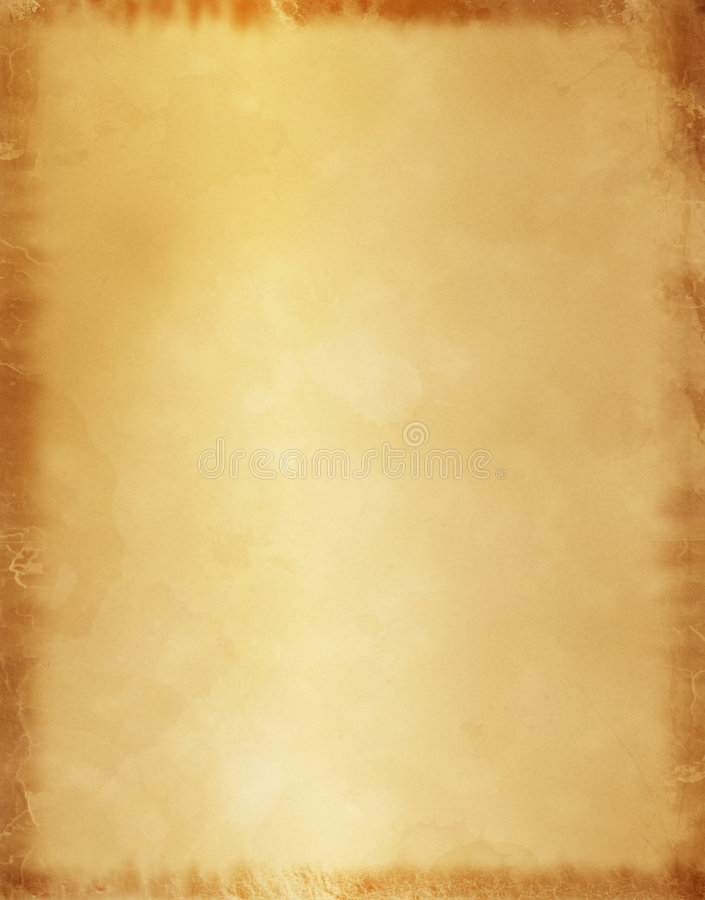 Old Parchment Paper Background vector illustration