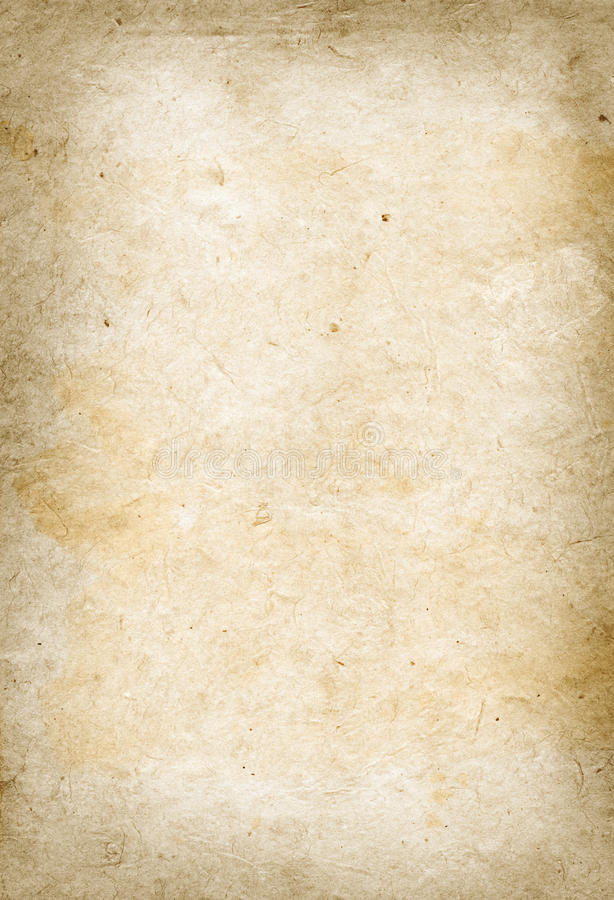 Download Old Parchment Paper Texture Stock Image