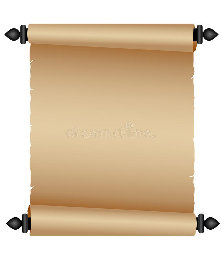 Free Old Parchment Scroll Stock Image - 15172121