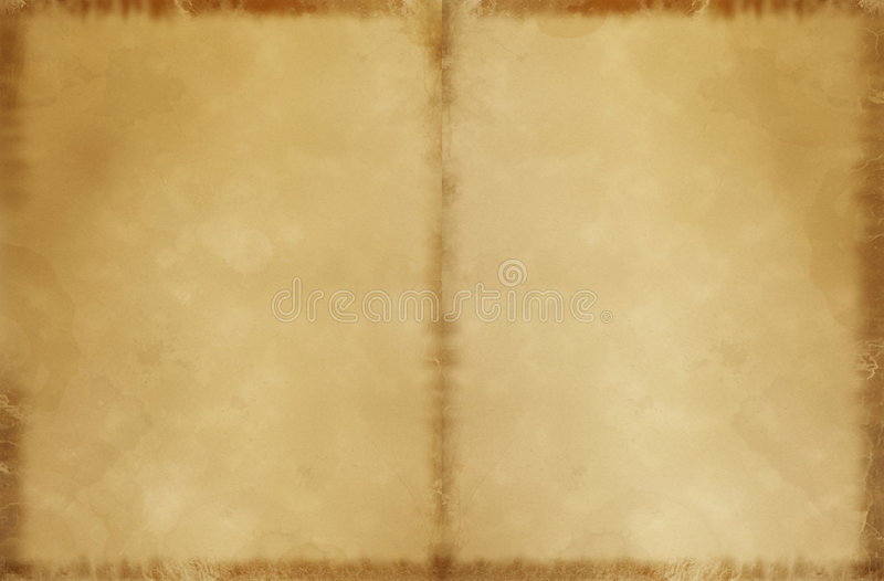 Old Parchment (US Letter DPS) stock photography