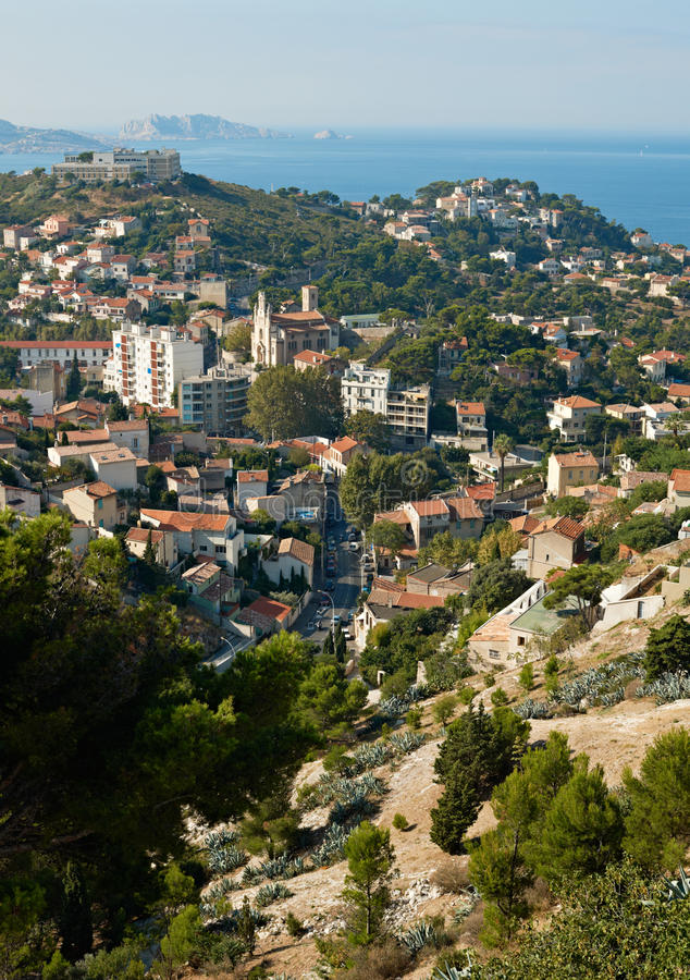 Download Old part of Marseille stock image. Image of settlement - 16472737