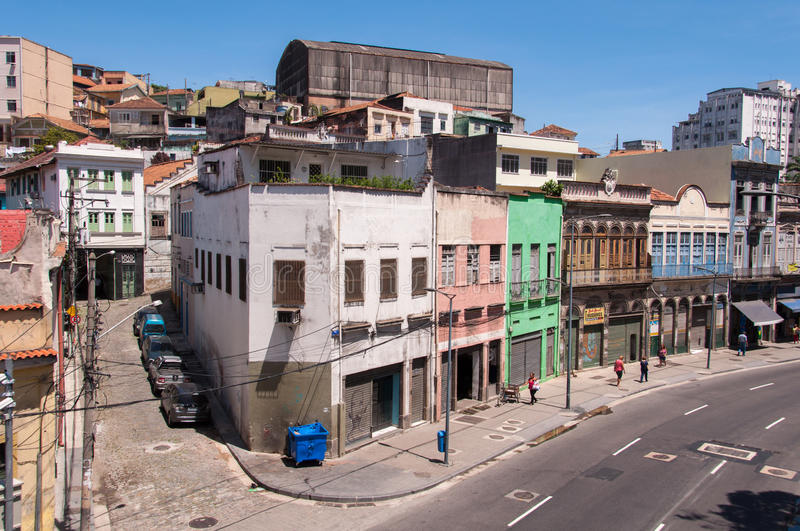 Old Part of Rio de Janeiro royalty free stock images