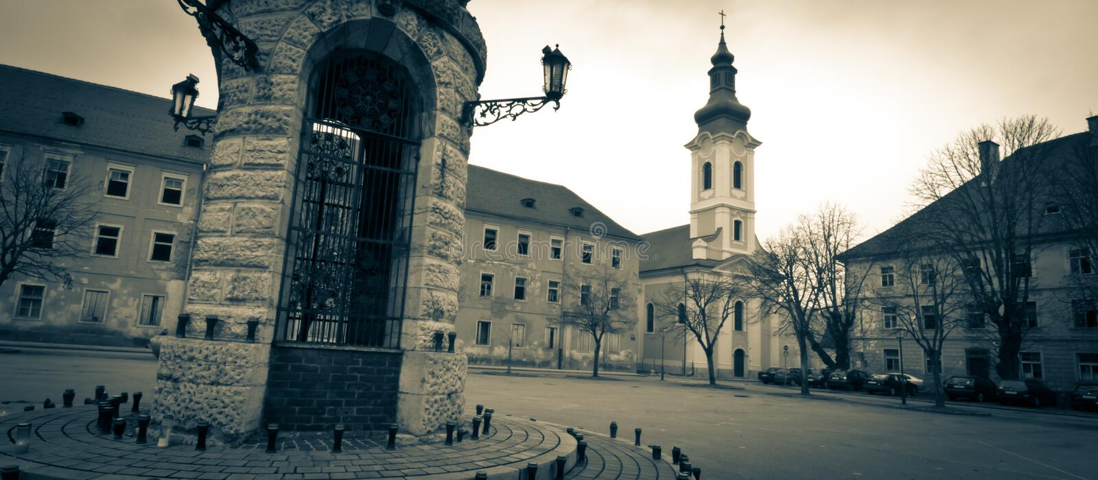 Download Old Part Of Town Royalty Free Stock Photography - Image: 27818267
