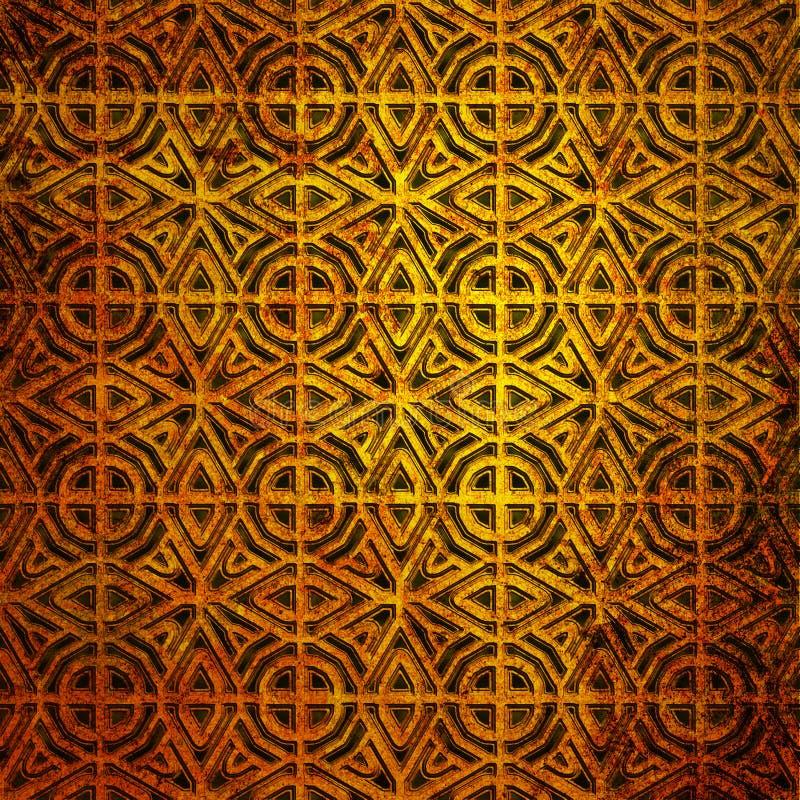 Old pattern stock illustration