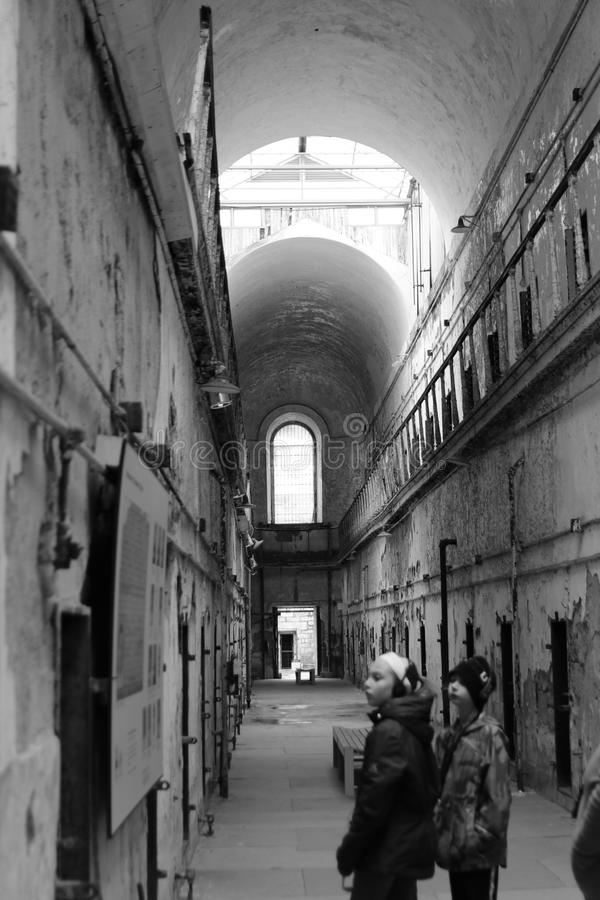 Old Penitentiary in Philadelphia,Pennsylvania royalty free stock photography