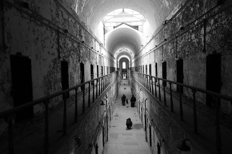 Old Penitentiary in Philadelphia,Pennsylvania royalty free stock photo