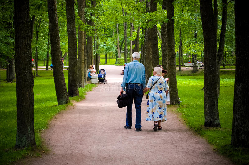 Old people royalty free stock photo
