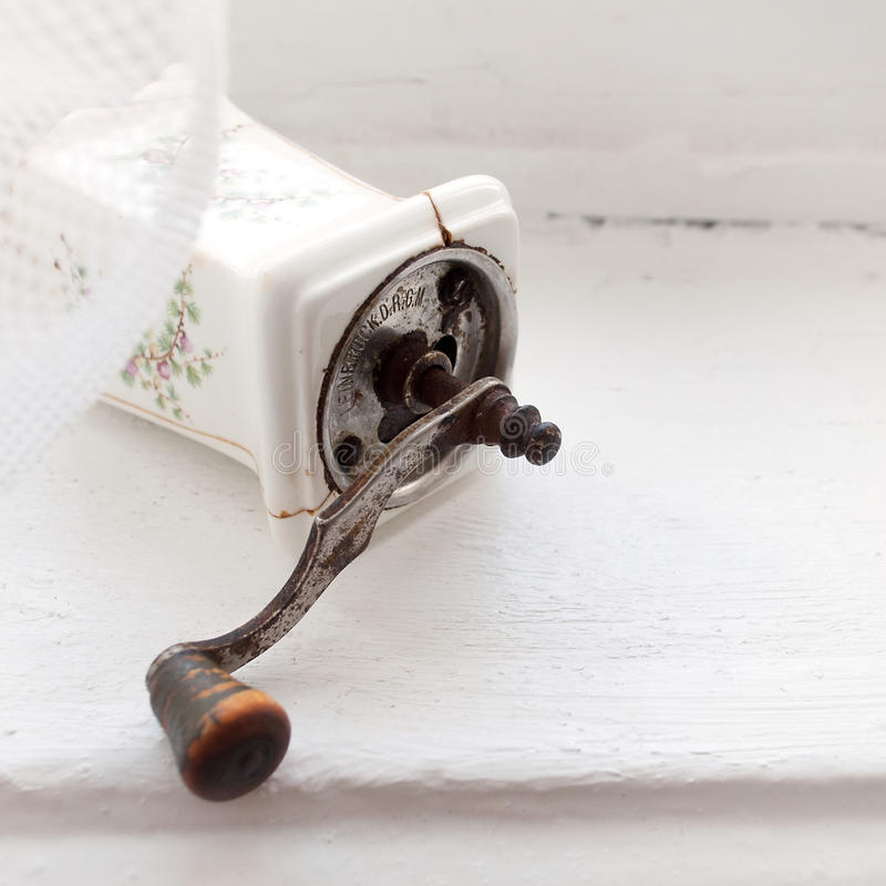 Old Pepper Mill Royalty Free Stock Photo