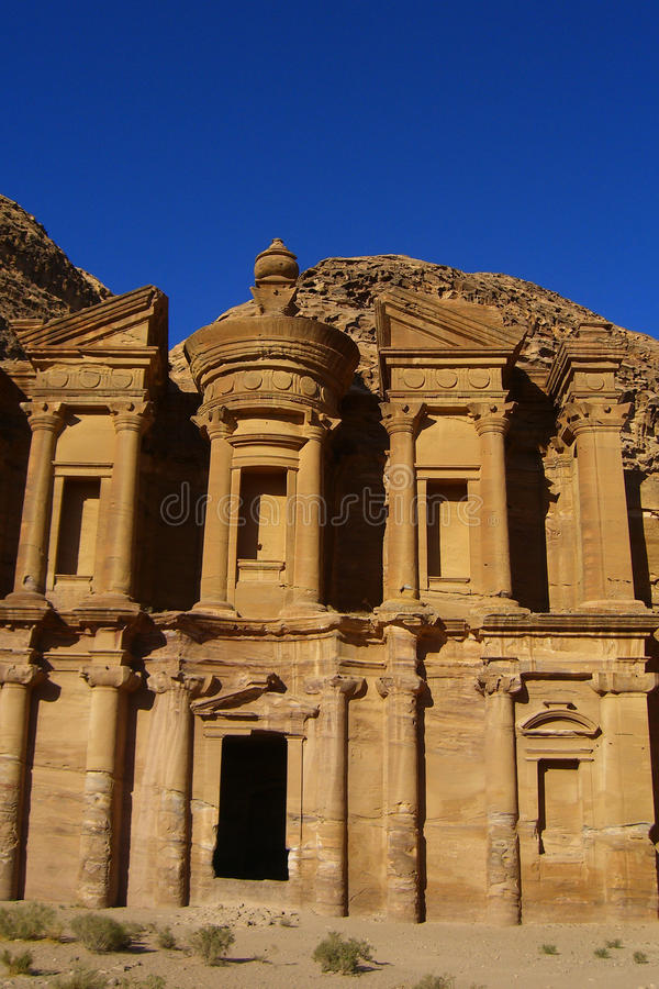 Download Old Petra in Jordan stock image. Image of history, nobody - 30069671