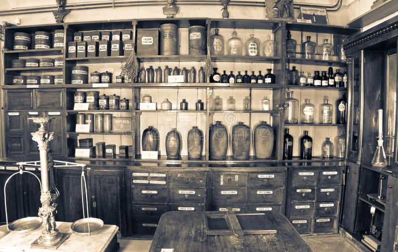 Old pharmacy. Museum in 1730. Photography allowed