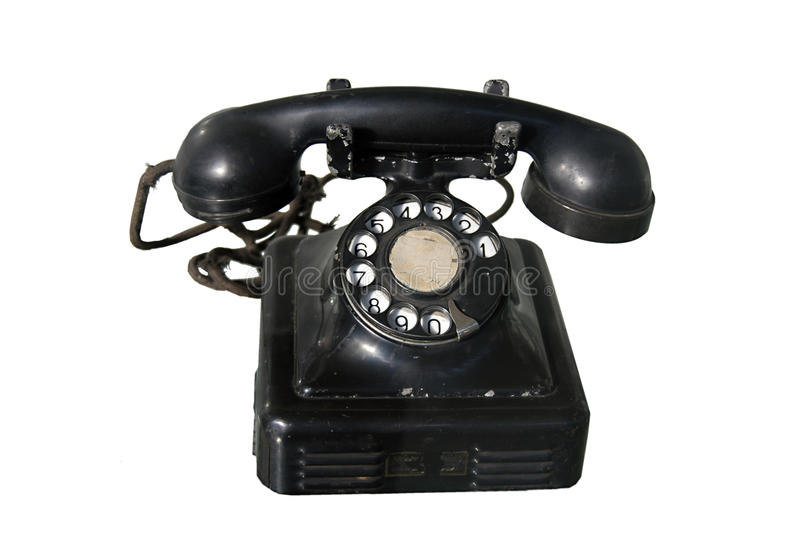 Download Old phone stock photo. Image of phone, telephone, answer - 12187204