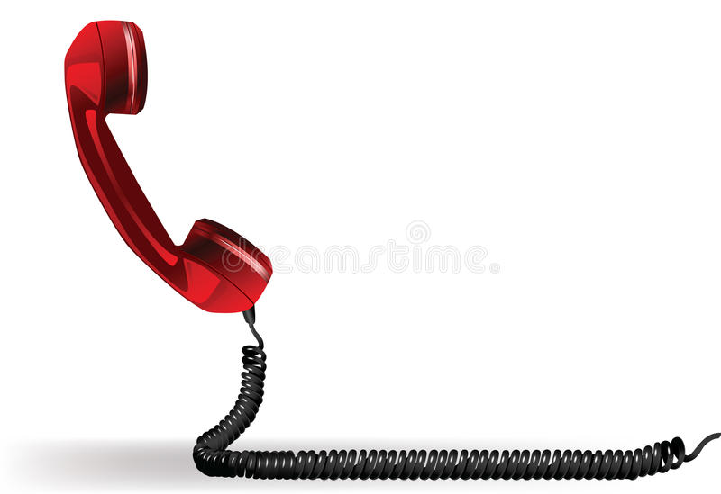 Download Old phone stock vector. Image of conversation, black - 14534915