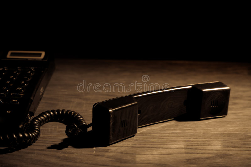 Download Old phone stock photo. Image of dark, converse, electronic - 3533604