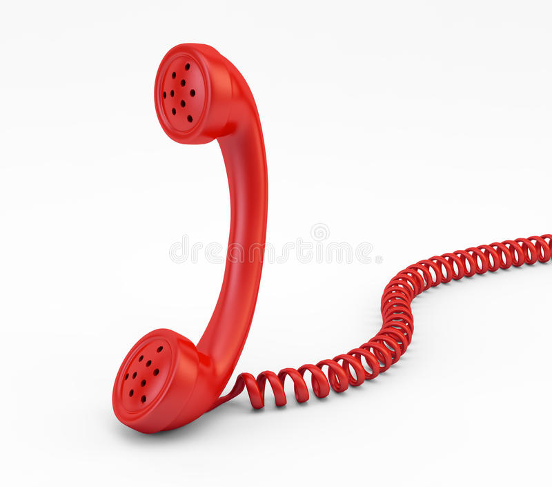 Download Old phone handset stock illustration. Image of connect - 24942195
