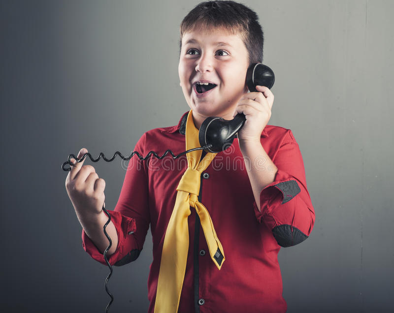 The old phone royalty free stock photos