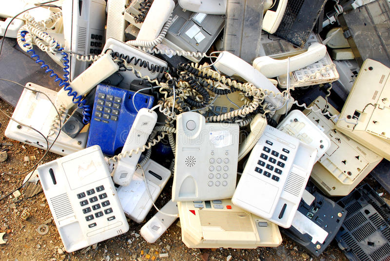 Download Old Phones Royalty Free Stock Photo - Image: 15627275