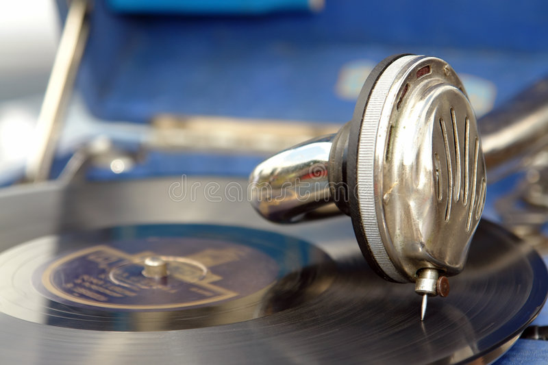 Old Phonograph Royalty Free Stock Photos