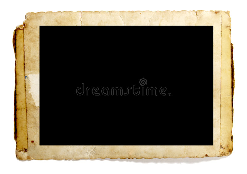 Old photo royalty free stock photography