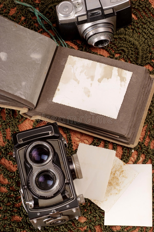 Download Old photo album stock image. Image of classic, stain, memories - 3763989
