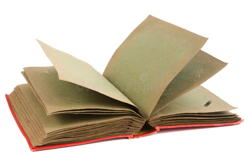 Download Old Photo Album With Dark Pages Stock Image - Image: 26071727