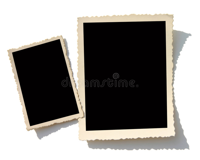 Download Old photo border stock photo. Image of isolated, background - 7419460